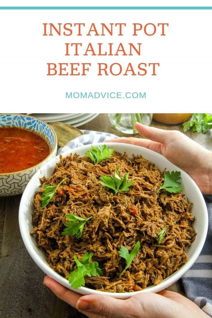 Pressure Cooker Italian Beef Roast from MomAdvice.com