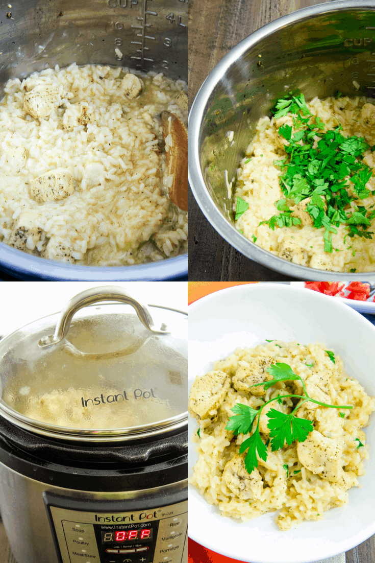 The Best Instant Pot Risotto Step-by-Step