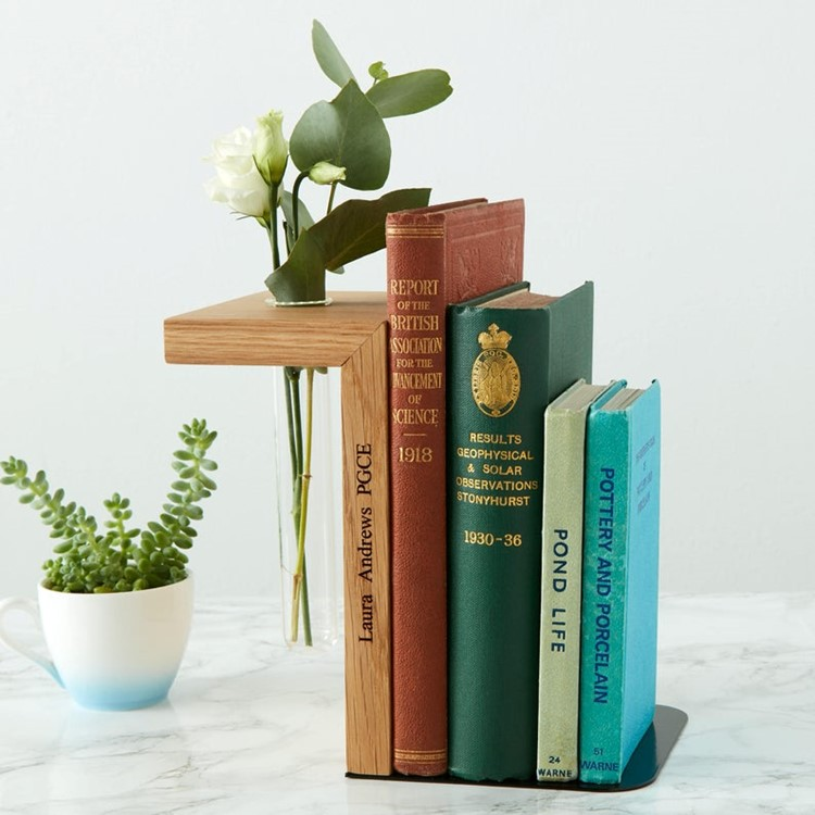 personalized bookend