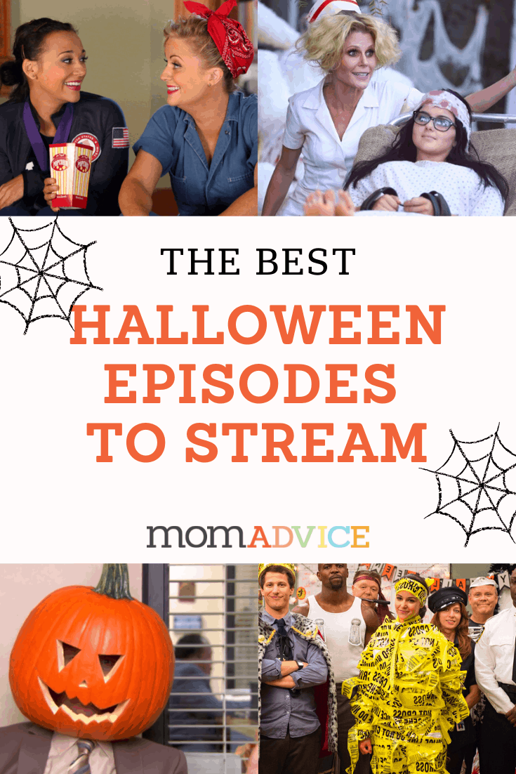 8 TV Shows with Hilarious Halloween Episodes from MomAdvice.com