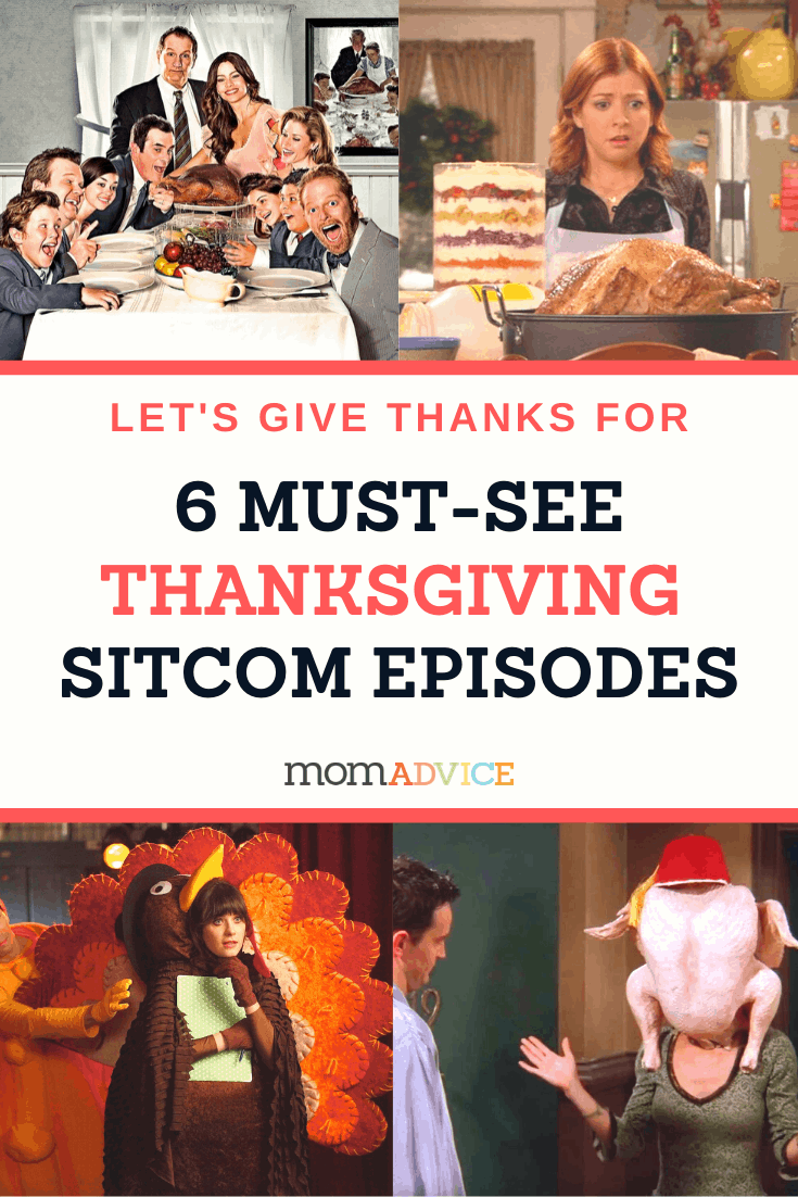 6 Sitcoms That Make Us Say Thanks from MomAdvice.com