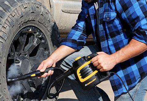auto detailing handheld steamer