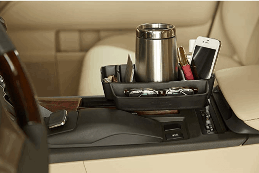 automotive cup holder organizer