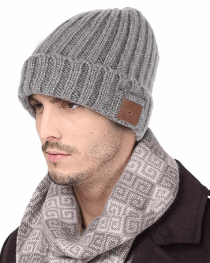 beanie with built in bluetooth speakers