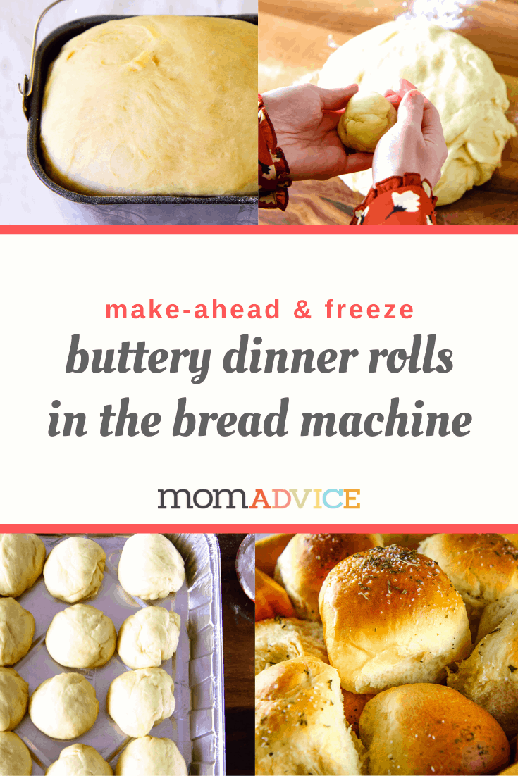 Buttery Dinner Rolls in the Bread Machine from MomAdvice.com