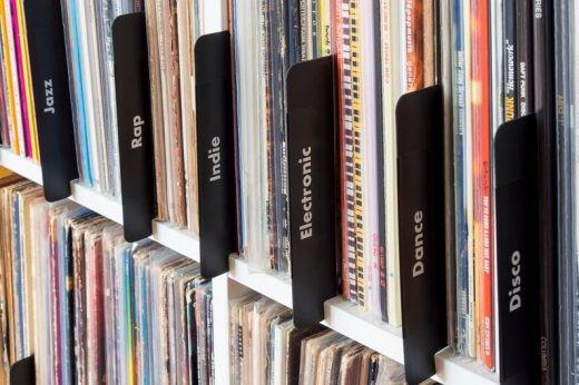 vinyl record dividers