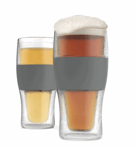 insulated beer pint glasses