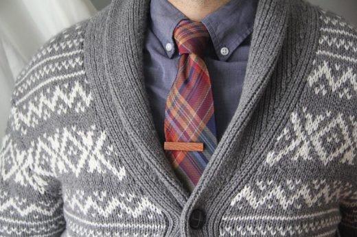 lacewood tie bar