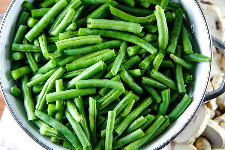 Make-Ahead Green Bean Casserole from MomAdvice.com