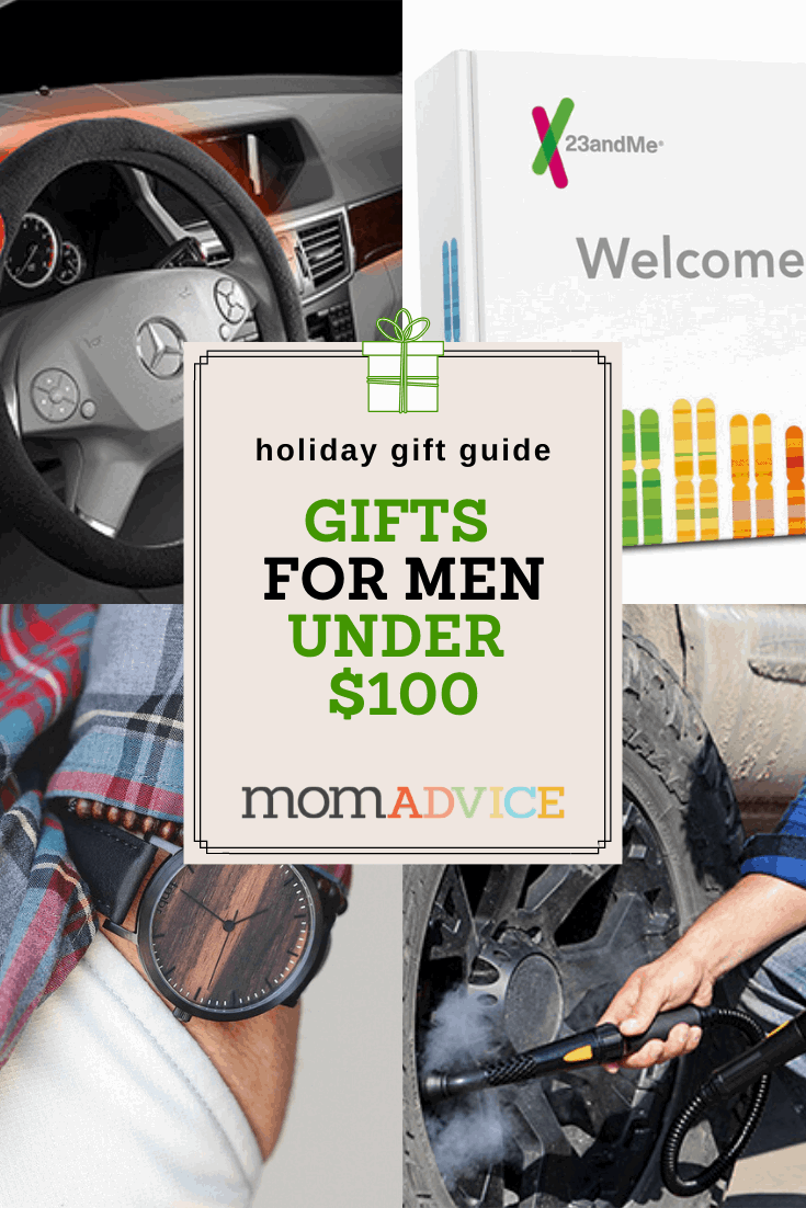Unique Gifts for Men Under $100 from MomAdvice.com
