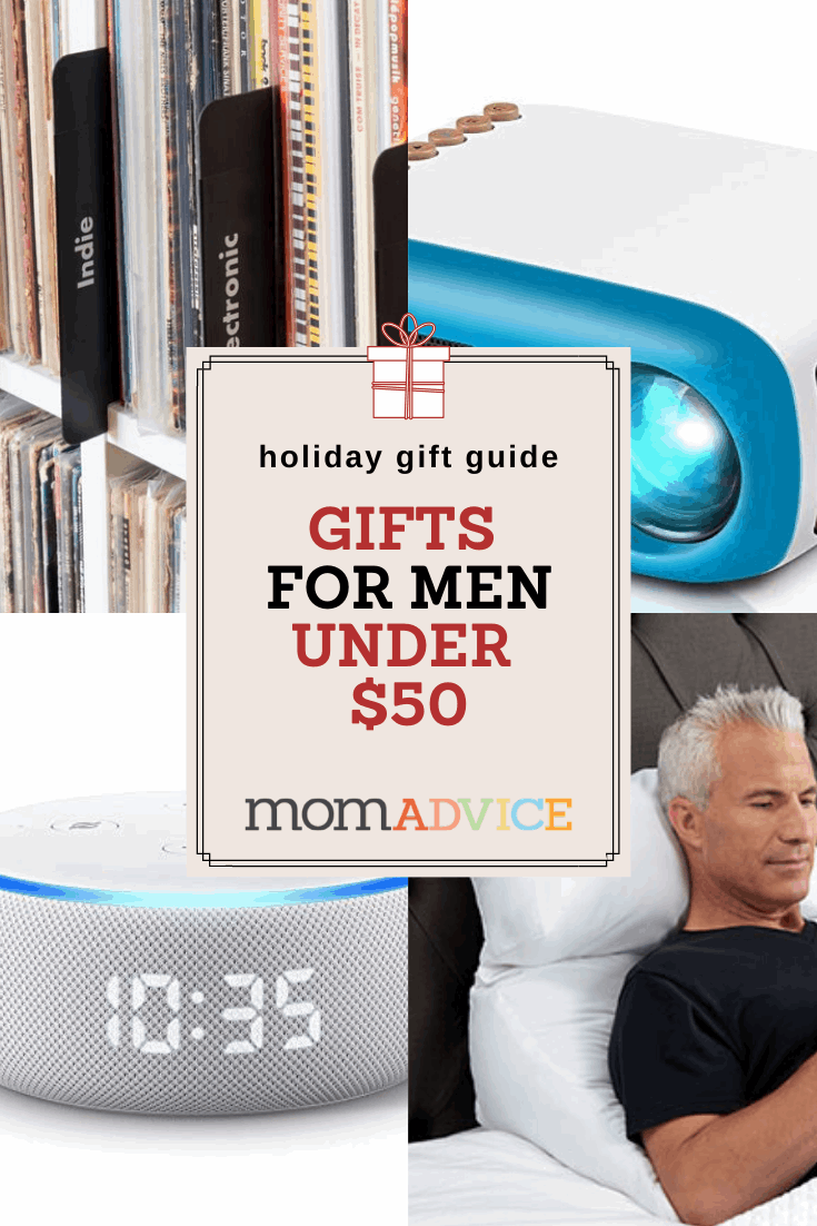 Unique Gifts for Men Under $50 from MomAdvice.com