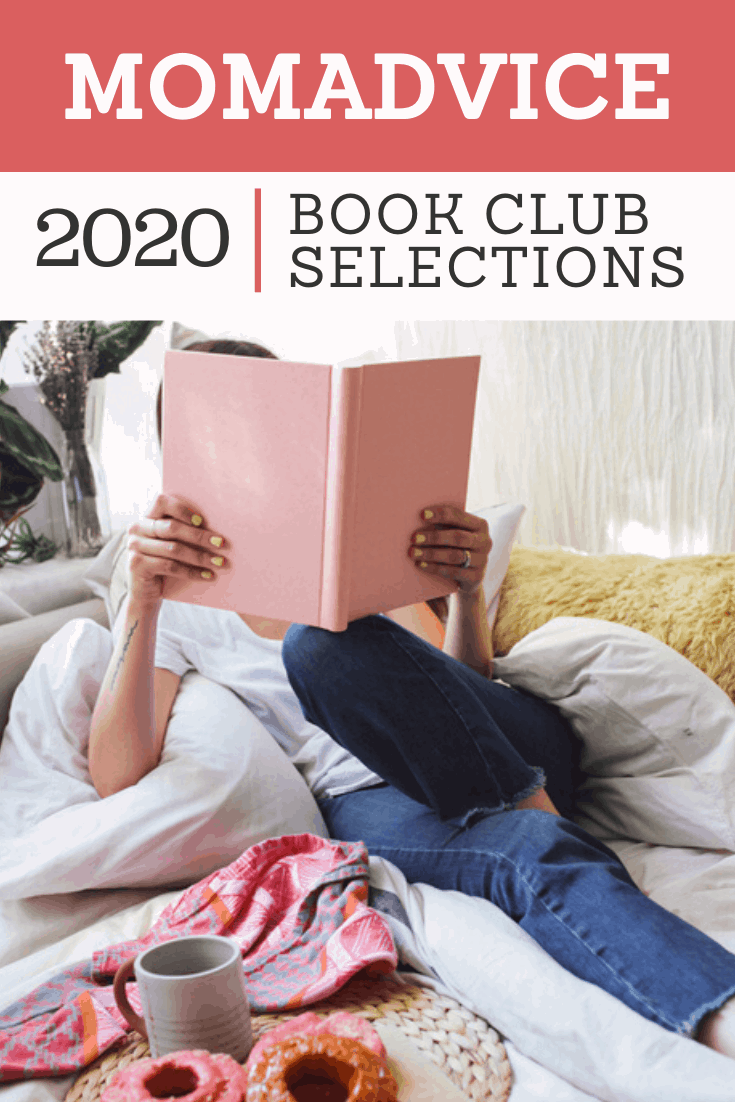 MomAdvice 2020 Book Club Selections