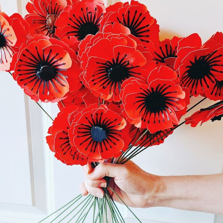 Paper Poppies Pattern