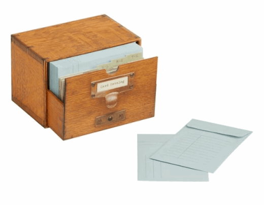 library of congress card catalog
