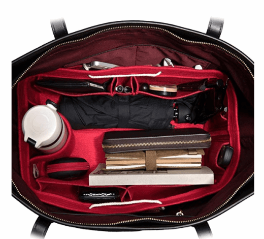 felt purse organizer