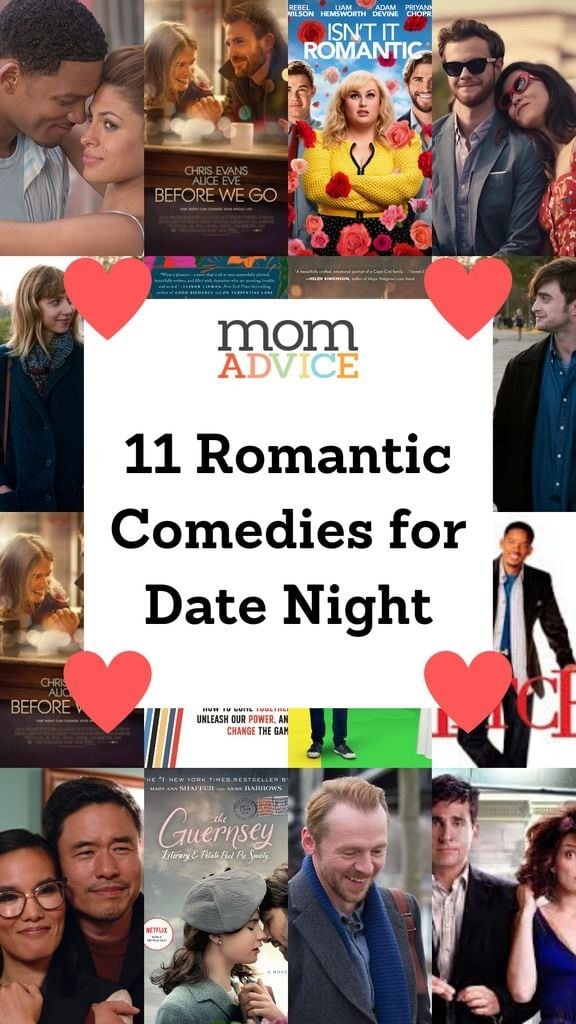 11 Rom Coms for the Perfect Date Night /MomAdvice.com