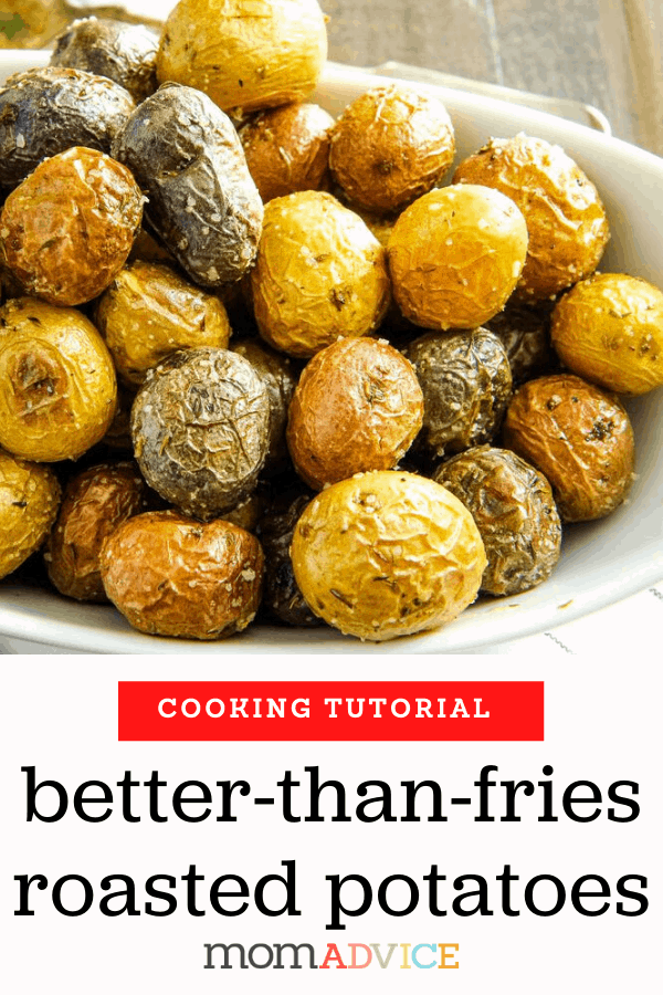 How to Roast Potatoes in the Oven Header