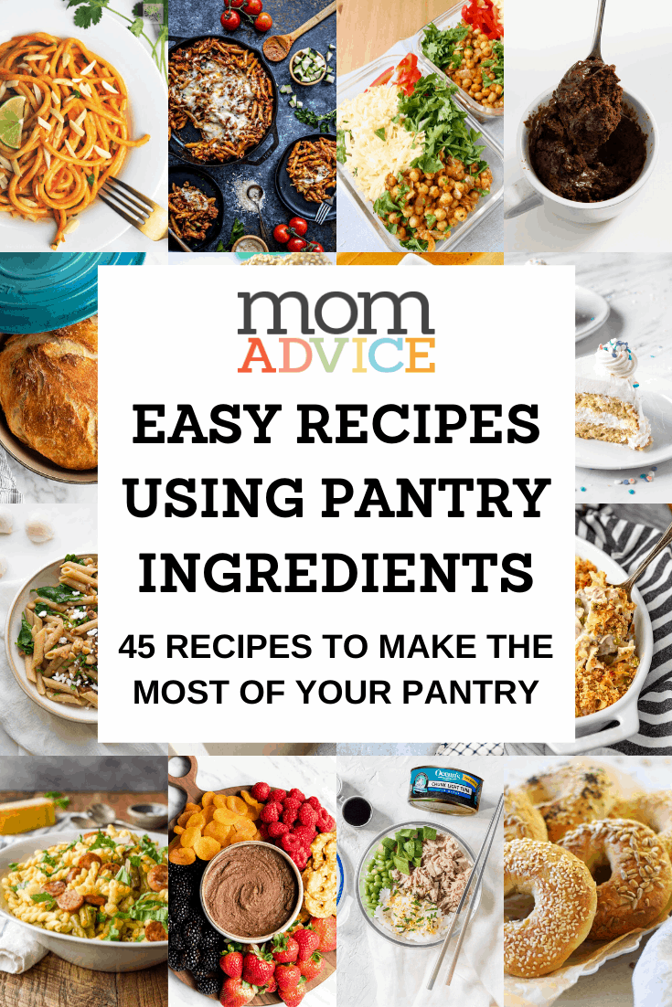 Recipes from Pantry Ingredients from MomAdvice.com