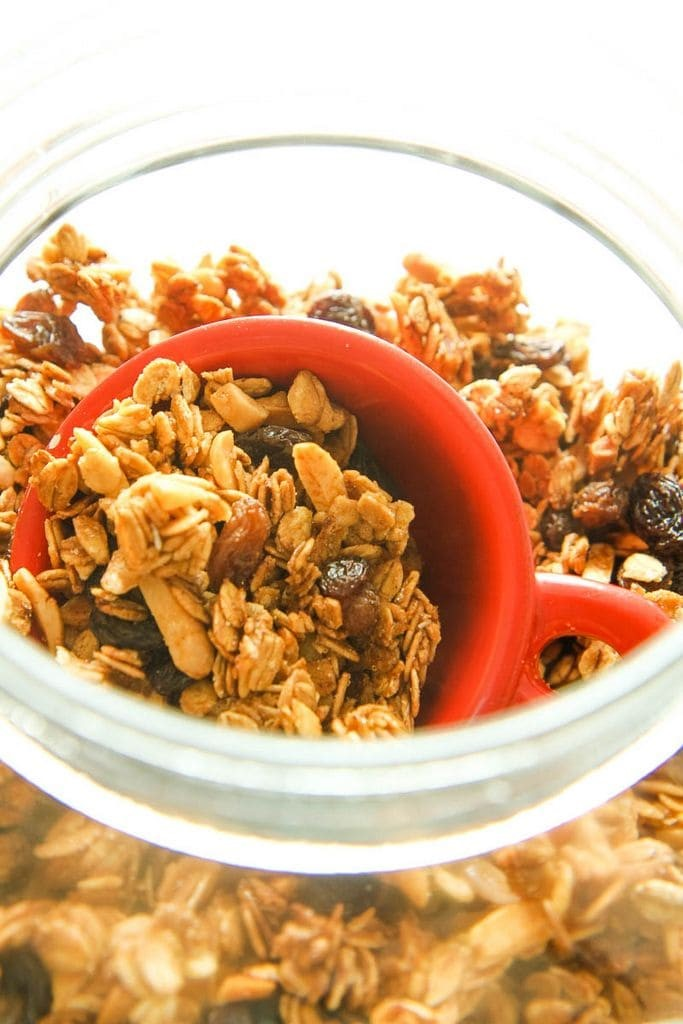 The Best Easy Granola in a Jar