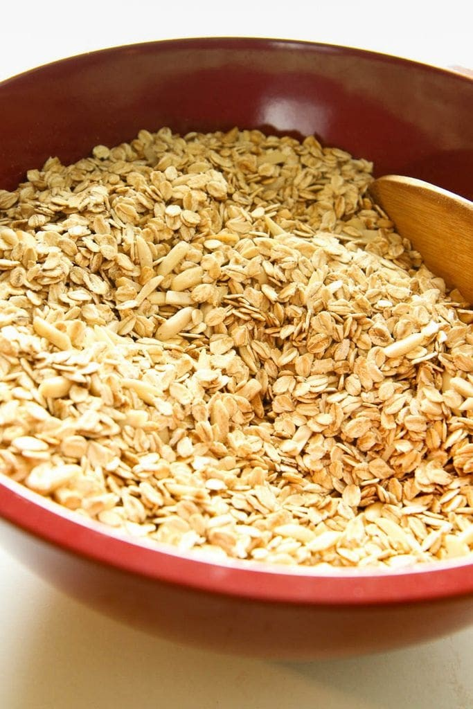 Mixing Oats and Nuts
