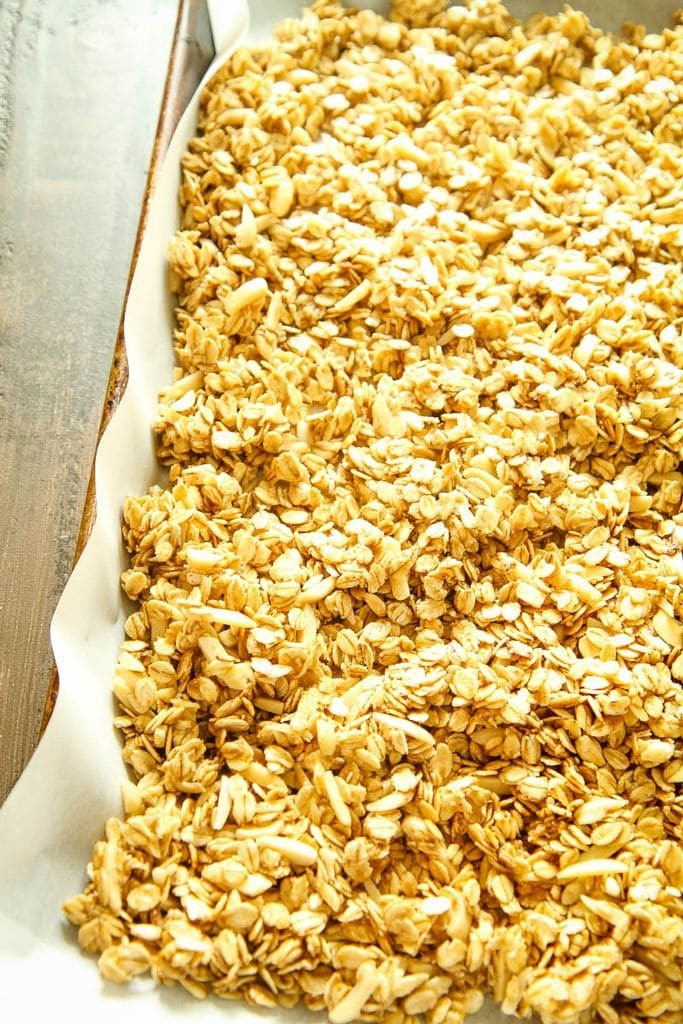 The Best Easy Granola On a Sheet Pan